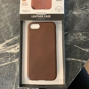 Accessories - Leather iPhone 7 or 8 case